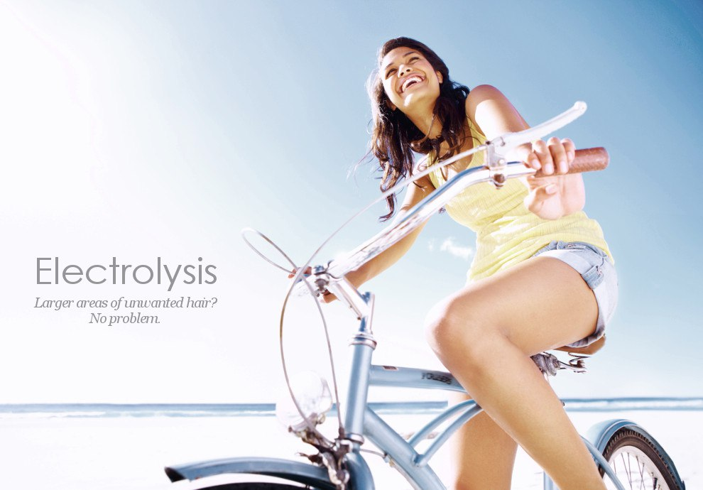 Electrolysis permanently removes unwanted body hair